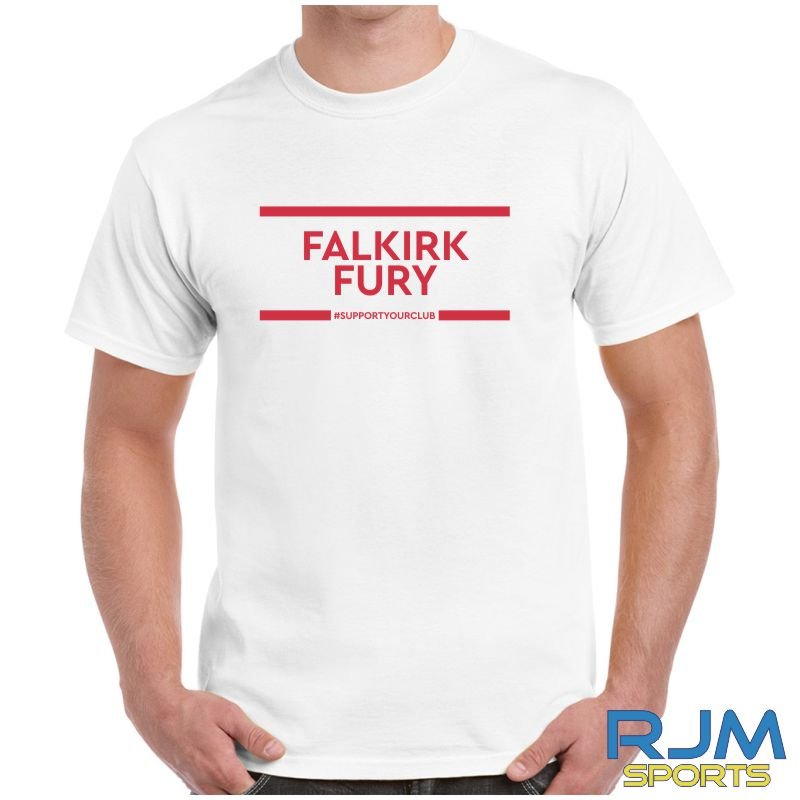 Falkirk Fury #SupportYourClub T-Shirt White