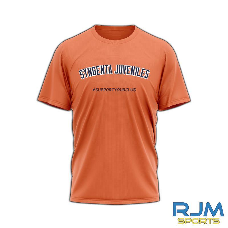 SJFC #SupportYourClub T-Shirt Orange