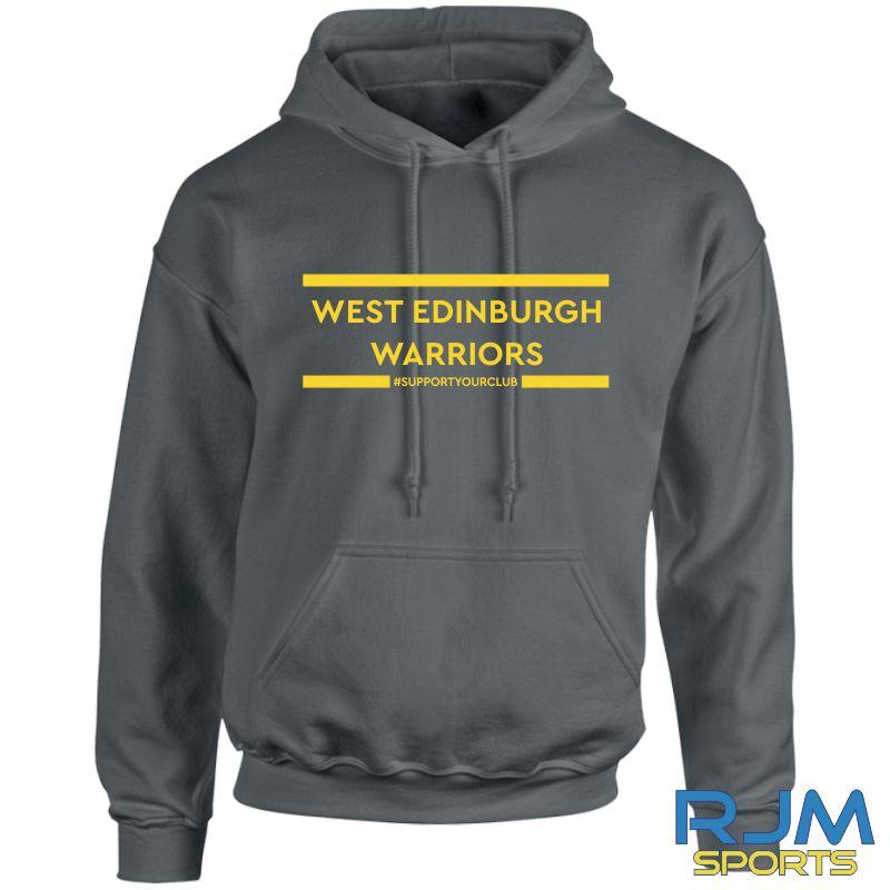 West Edinburgh Warriors #SupportYourClub Hoody Charcoal