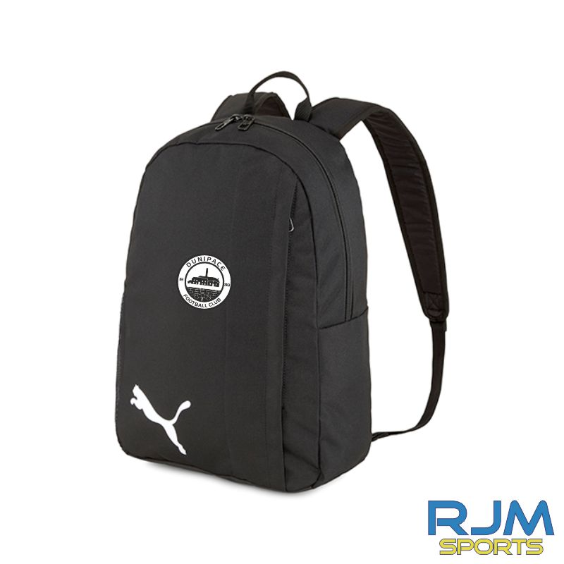 Dunipace FC Puma Goal Backpack Black