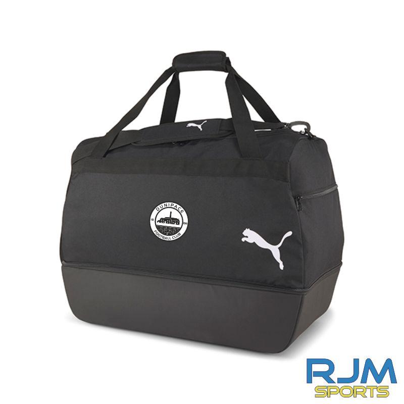 Dunipace FC Puma Goal Luggage Black