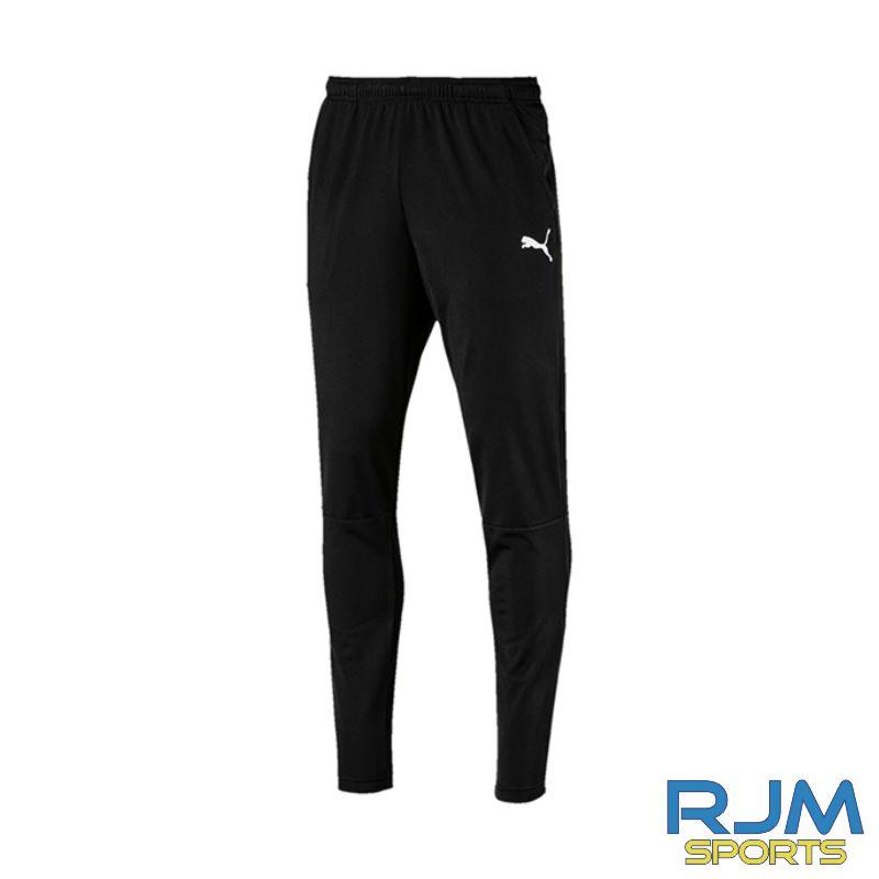 Dunipace FC Coaches Puma Liga Training Pants 2 Black