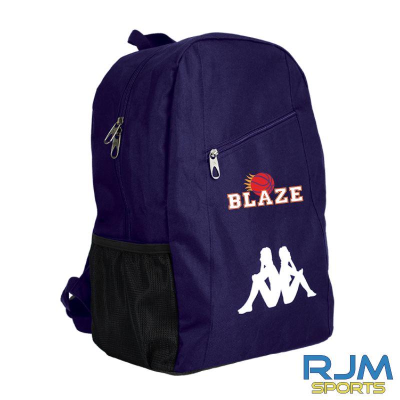 Boroughmuir Blaze Kappa Velia Backpack Marine