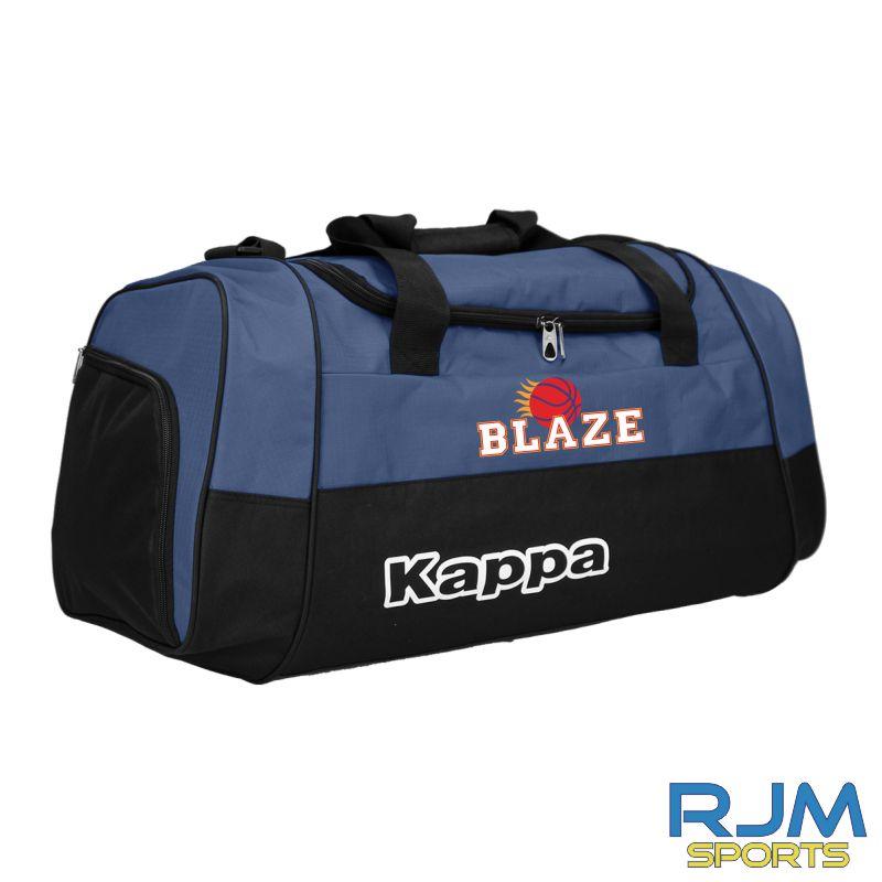 Boroughmuir Blaze Kappa Brenno Medium Sports Bag Marine