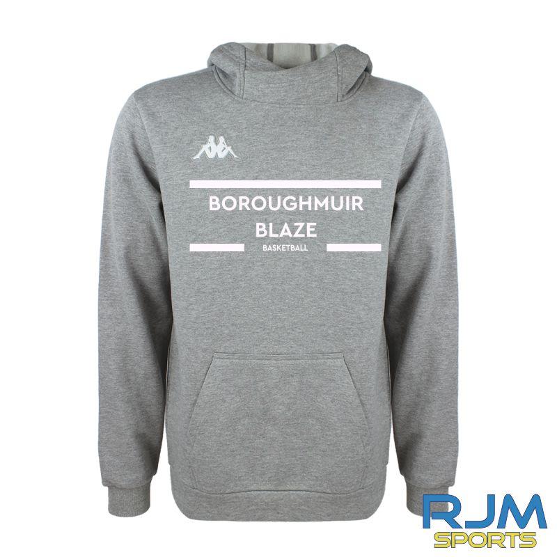 Boroughmuir Blaze Kappa Basilo Hoody Grey