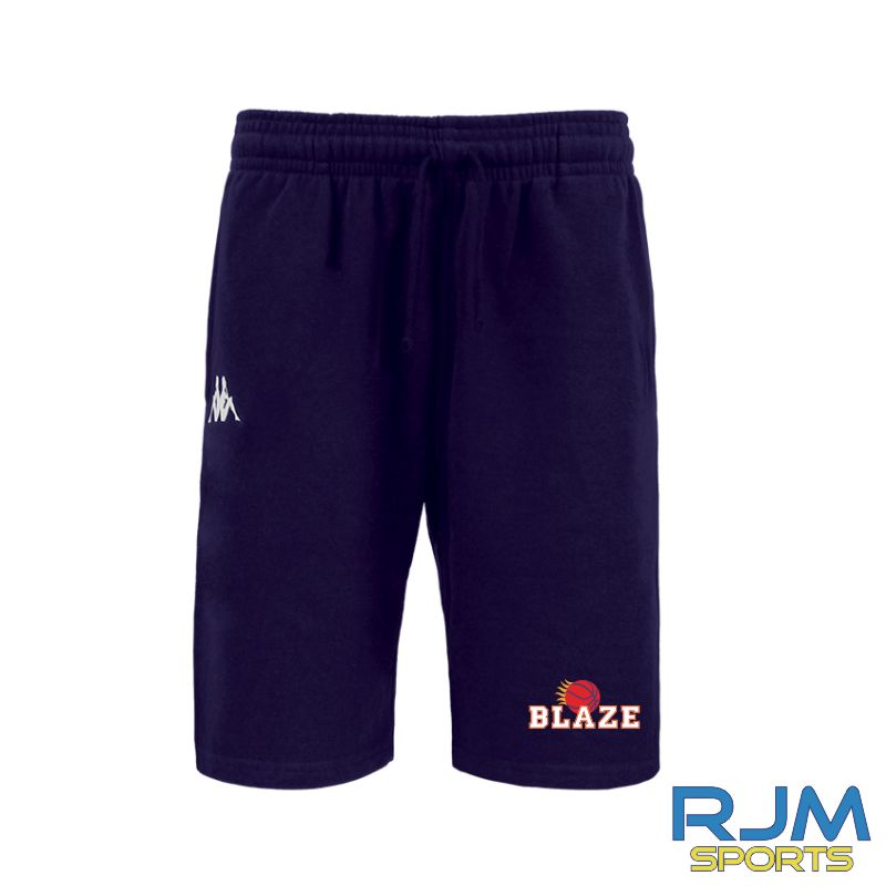 Boroughmuir Blaze Kappa Peci Shorts Marine