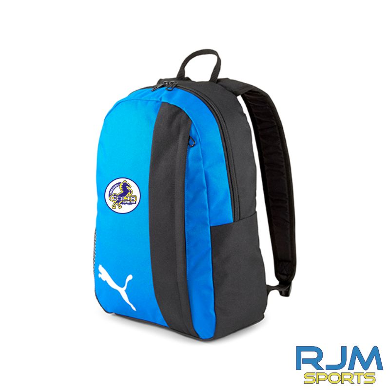 Cumbernauld Colts Puma Goal Backpack Electric Blue