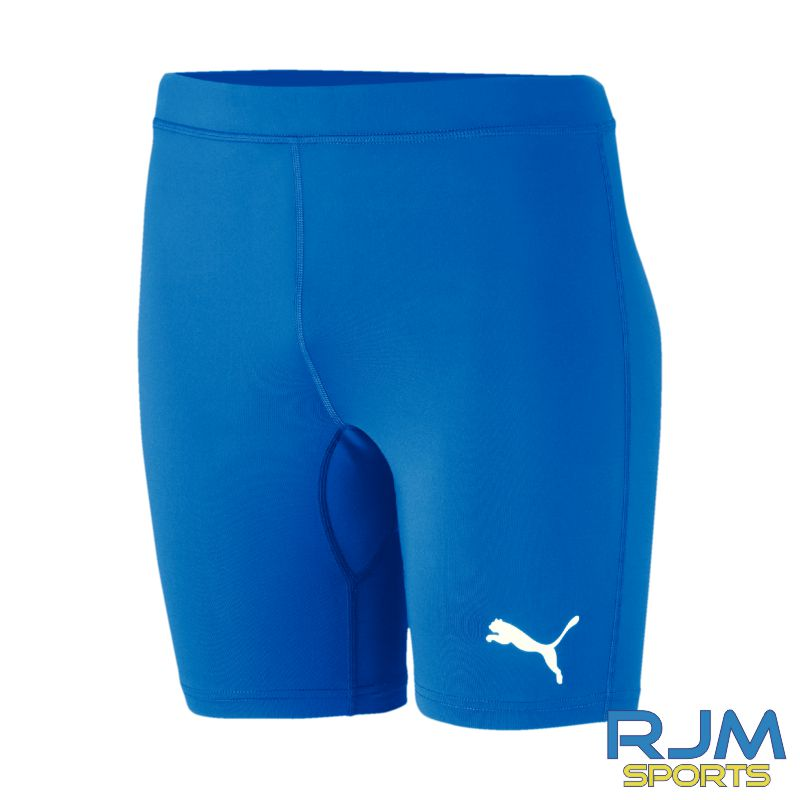 Cumbernauld Colts Puma Baselayer Shorts Electric Blue