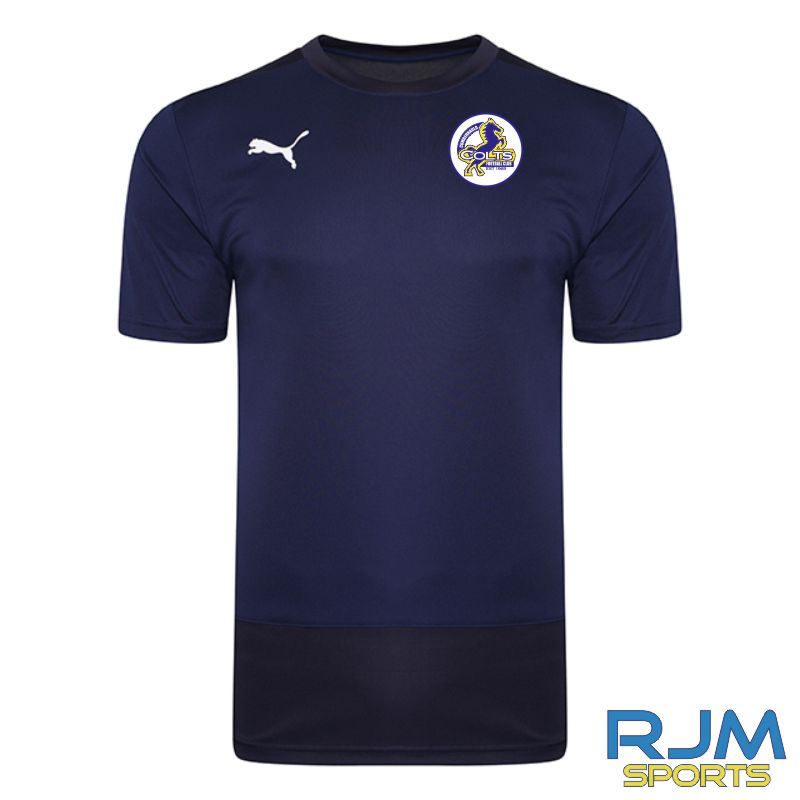 Cumbernauld Colts Coaches Puma Goal Training Jersey Peacoat