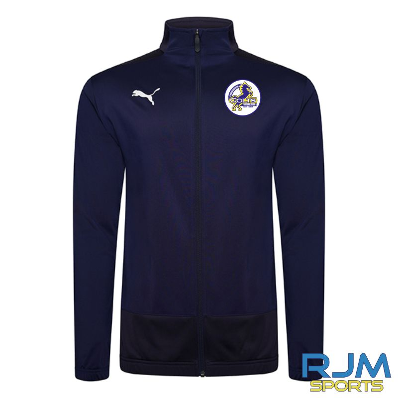 Cumbernauld Colts Coaches Puma Goal Training Jacket Peacoat