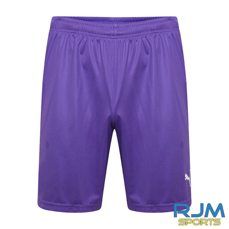 Cumbernauld Colts GK Puma Liga Shorts Prism Violet
