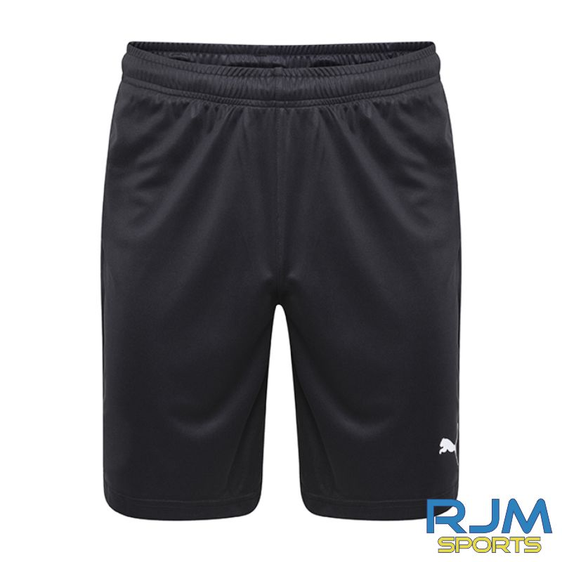 Cumbernauld Colts Girls Puma Liga Core Shorts Black