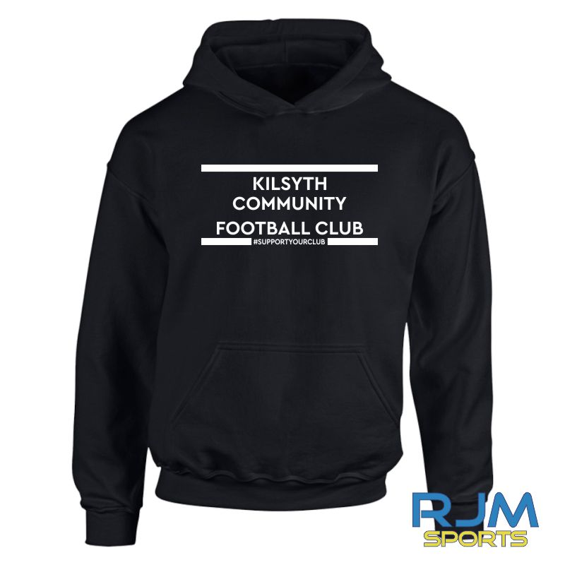 Kilsyth Community FC #SupportYourClub Hoody Black