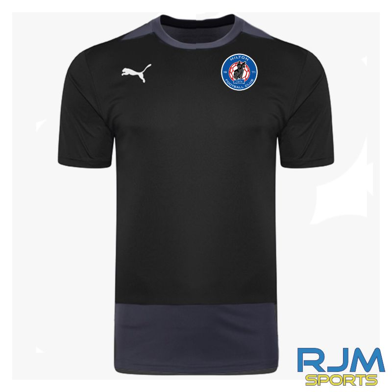 Milton FC Coaches Puma Goal Training Jersey Black