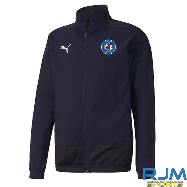 Milton FC Coaches Matchday Puma Goal Training Jacket Black