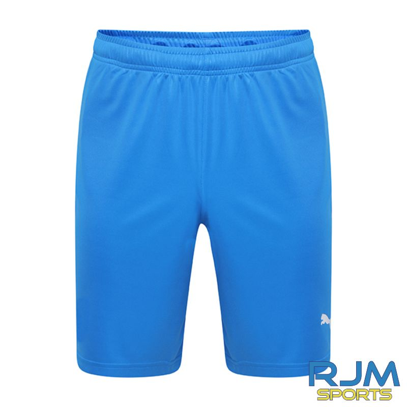 Milton FC Players Puma Liga Core Shorts Electric Blue