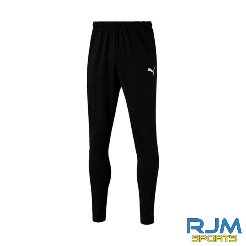 Milton FC Coaches Matchday Puma Liga Training Pants Pro Black