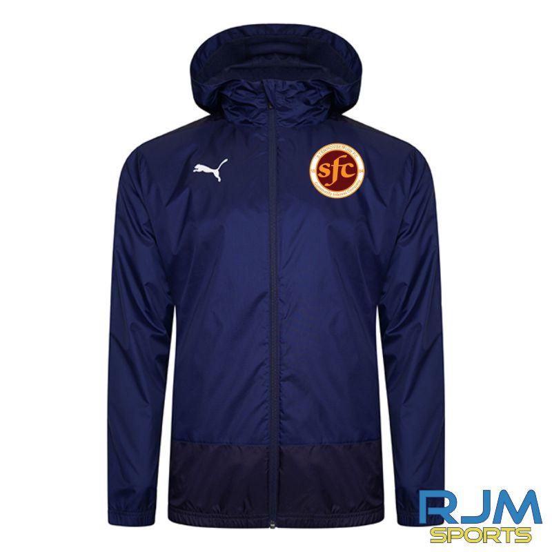 WITC Puma Goal Training Rain Jacket Peacoat