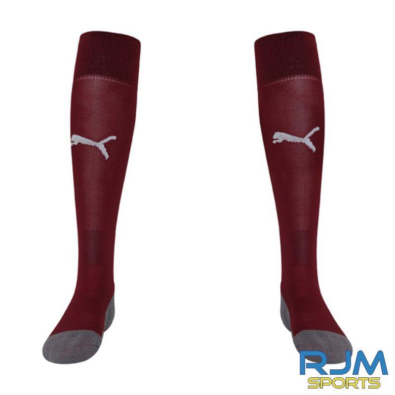 WITC Young Maroons Puma Liga Core Socks Cordovan