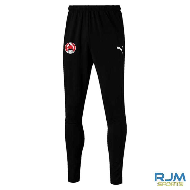 Clyde FC Puma Liga Pro Pants Black