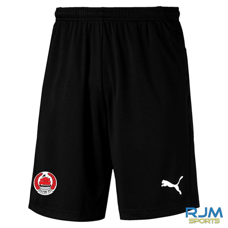 Clyde FC Puma Liga Training Shorts Black