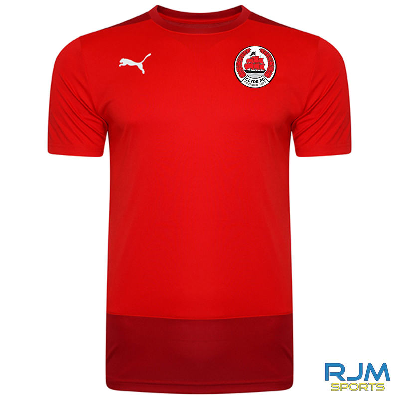 Clyde FC Puma Goal Training Jersey Red