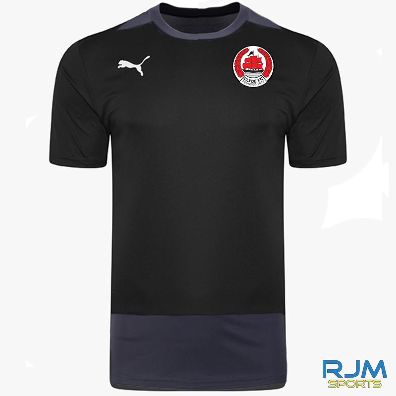 Clyde FC Puma Goal Training Jersey Black