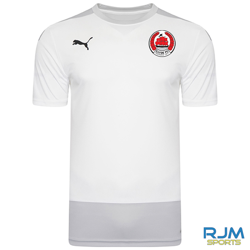 Clyde FC Puma Goal Training Jersey White