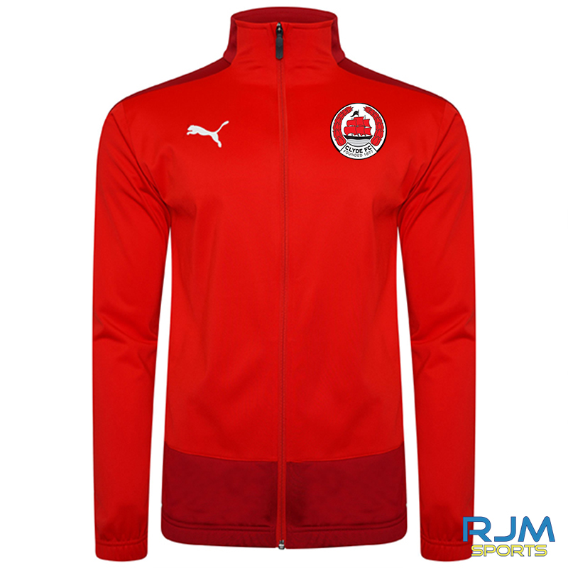 Clyde FC Puma Goal Training Jacket Red