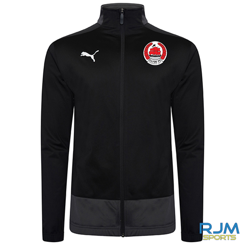 Clyde FC Puma Goal Training Jacket Black
