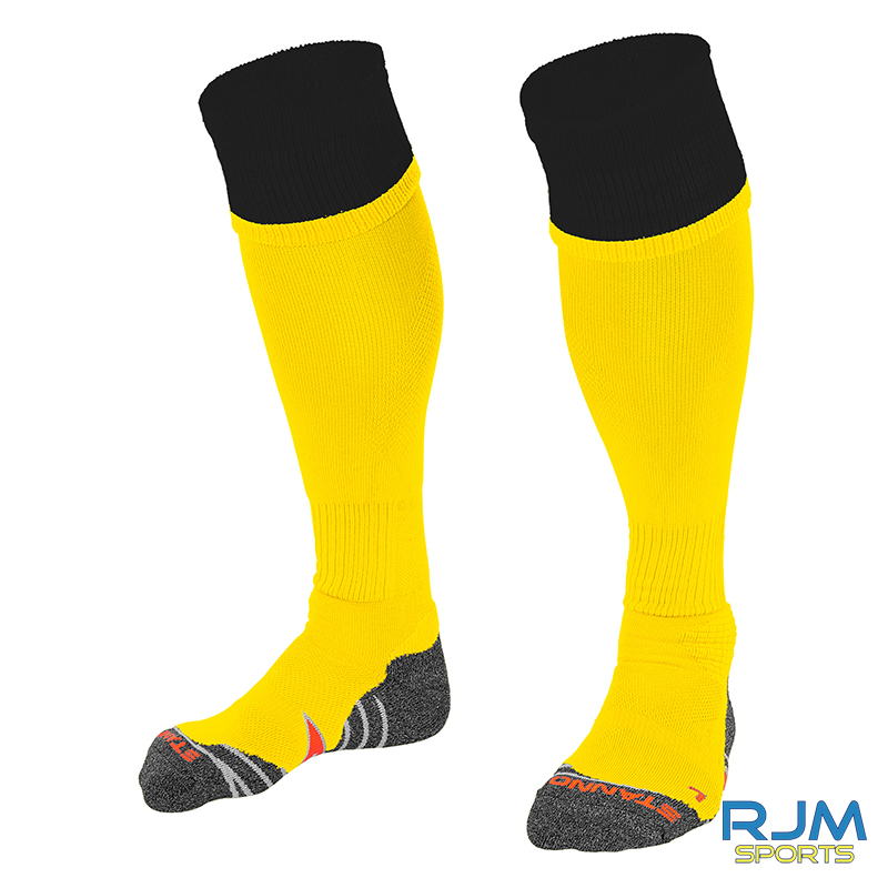 Bonnybridge Youths Stanno Combi Home Socks Yellow/Black