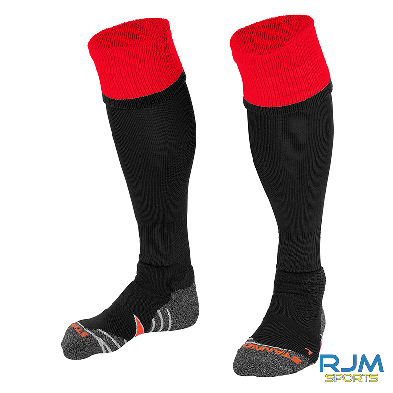 Bonnybridge Youths Stanno Combi Home Socks Black Red