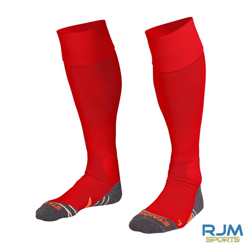 Callander Thistle FC Stanno Uni II Coaches Sock Red