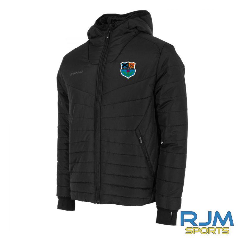 Callander Thistle FC Stanno Prime Puffer Jacket Black