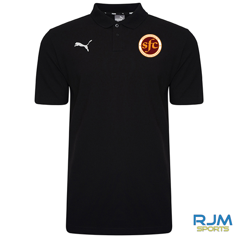 Stenhousemuir FC Puma Goal Casuals Polo Black