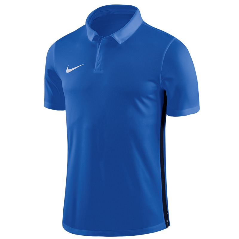 Nike Dry Academy 18 Large Polo Shirt Blue