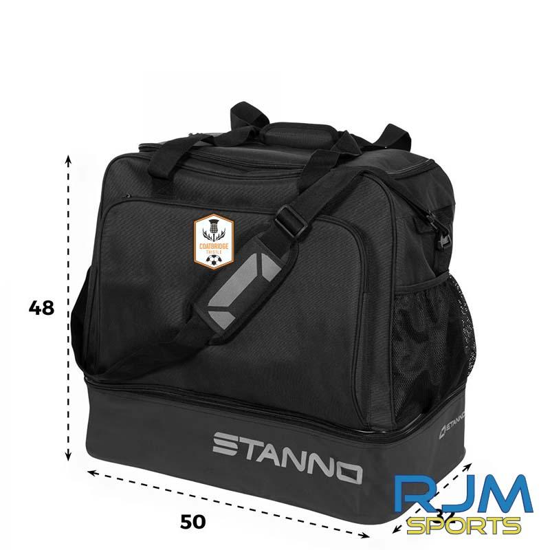 Coatbridge Thistle FC Stanno Merano Sports Bag Black