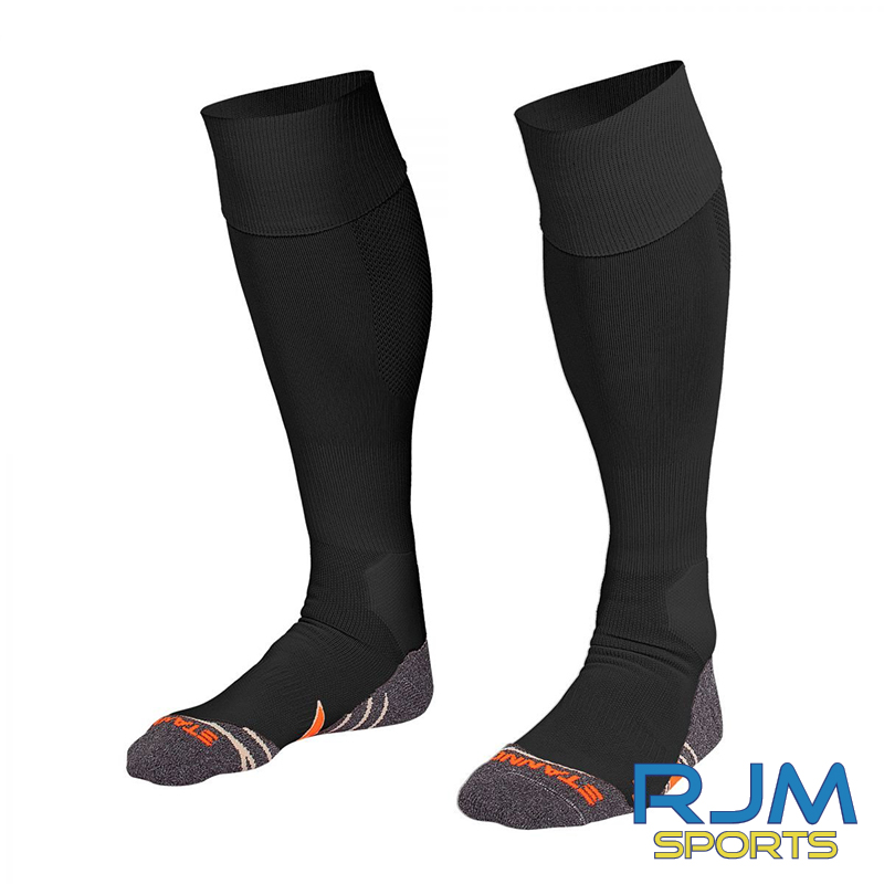 Coatbridge Thistle FC Players Stanno Uni II Sock Black