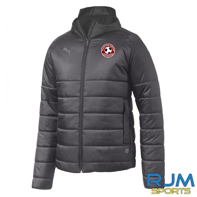 Houston United FC Puma Team Padded Jacket Black