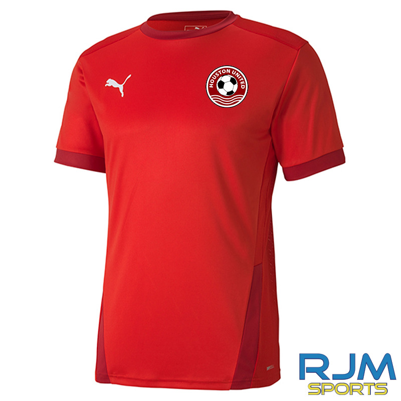 Houston United FC Puma Goal Short Sleeve Jersey Red