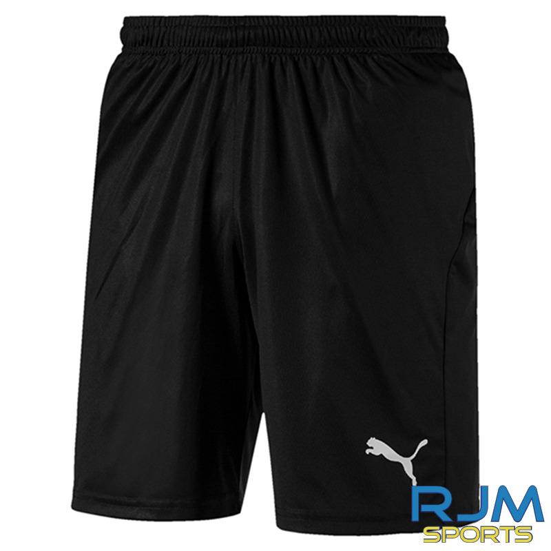 Houston United FC Girls Puma Liga Core Shorts Black